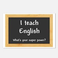 I teach English Postcards (Package of 8)
