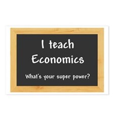 I teach Economics Postcards (Package of 8)