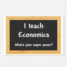 I teach Economics Postcards (Package of 8)