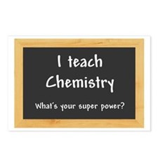 I teach Chemistry Postcards (Package of 8)