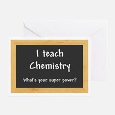 I teach Chemistry Greeting Card