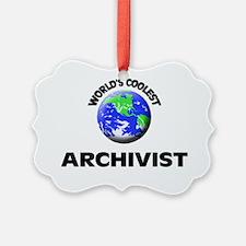 World's Coolest Archivist Ornament
