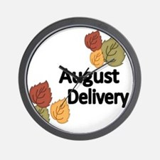AUGUST DELIVERY Wall Clock