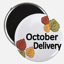 OCTOBER DELIVERY Magnet