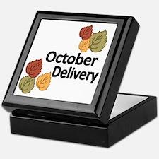 OCTOBER DELIVERY Keepsake Box