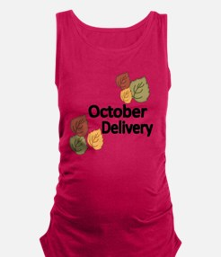 OCTOBER DELIVERY Maternity Tank Top