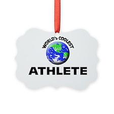 World's Coolest Athlete Ornament