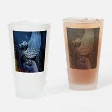Art Deco Griffin Drinking Glass