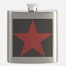 Red Pentagram Flask