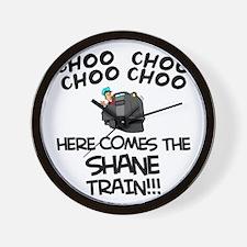 Shane Train Wall Clock