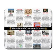 Ottoman History Timeline Mousepad