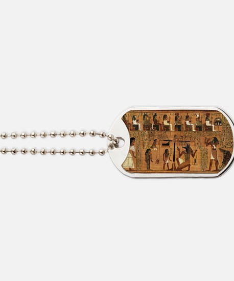Weighing of the Heart Dog Tags