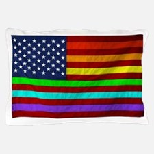 (LGBT) Gay Rainbow Pride Flag - Pillow Case