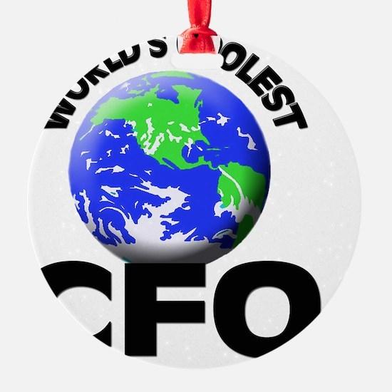 World's Coolest Cfo Ornament