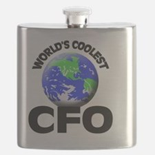 World's Coolest Cfo Flask