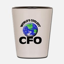 World's Coolest Cfo Shot Glass