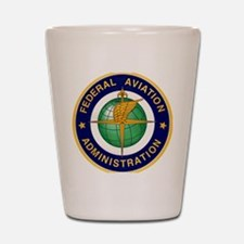 FAA logo Shot Glass