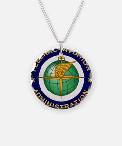 FAA logo Necklace