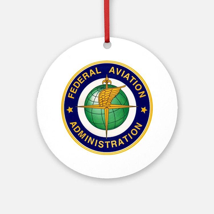 FAA logo Round Ornament