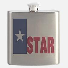 Lone Star Republic Flask