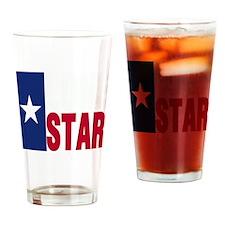 Lone Star Republic Drinking Glass
