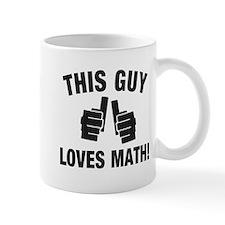 This Guy Loves Math Mug
