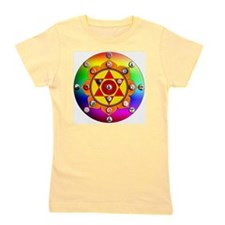 Yoga Mandala Girl's Tee