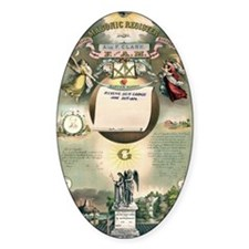 Masonic Register Decal