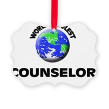 World's Coolest Counselor Ornament
