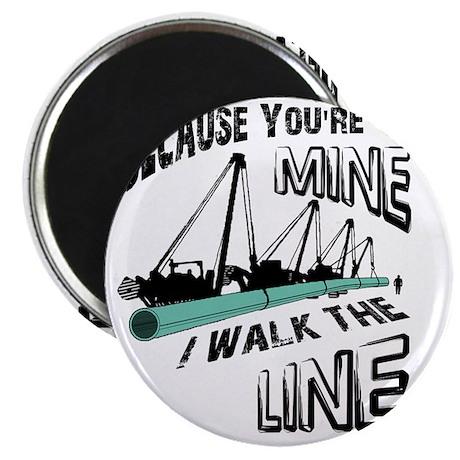 I Walk The Line Magnet