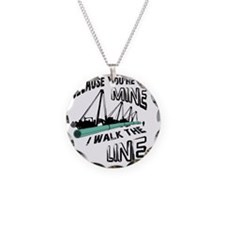 I Walk The Line Necklace