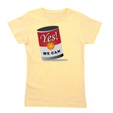 yes we can! Girl's Tee