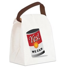 yes we can! Canvas Lunch Bag
