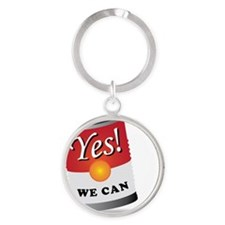 yes we can! Round Keychain