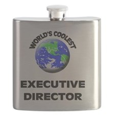 World's Coolest Executive Director Flask