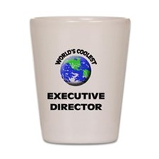 World's Coolest Executive Director Shot Glass