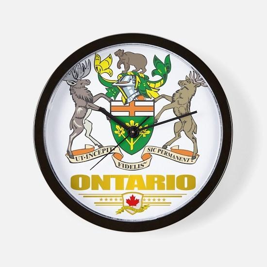 Ontario COA Wall Clock
