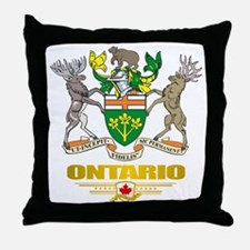 Ontario COA Throw Pillow