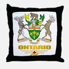 Ontario COA Throw Pillow