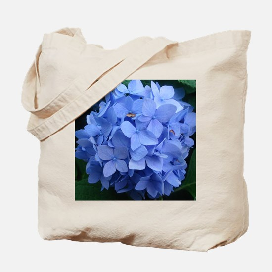 Blue Violet Hydrangea Tote Bag