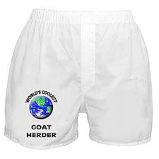 World's Coolest Goat Herder Boxer Shorts