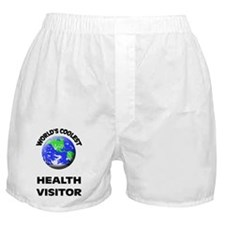 World's Coolest Health Visitor Boxer Shorts