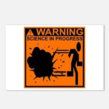 SCIENCE IN PROGRESS Postcards (Package of 8)