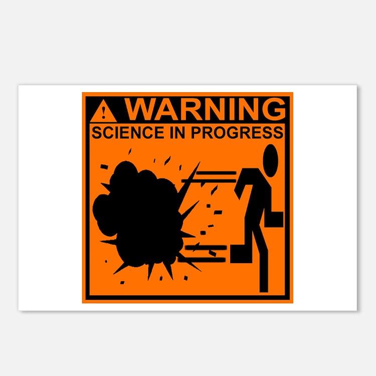 SCIENCE IN PROGRESS Postcards (Package of 8)