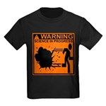 SCIENCE IN PROGRESS Kids Dark T-Shirt