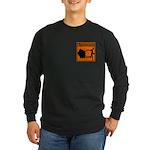 SCIENCE IN PROGRESS Long Sleeve Dark T-Shirt
