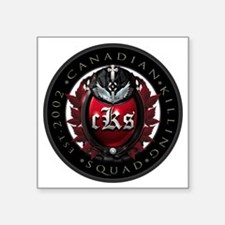 "[cKs] Roundel 2002 Square Sticker 3"" x 3"""