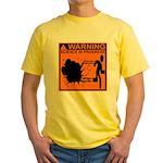 SCIENCE IN PROGRESS Yellow T-Shirt