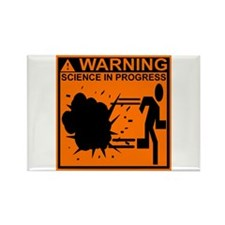 SCIENCE IN PROGRESS Rectangle Magnet (10 pack)