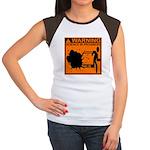SCIENCE IN PROGRESS Women's Cap Sleeve T-Shirt